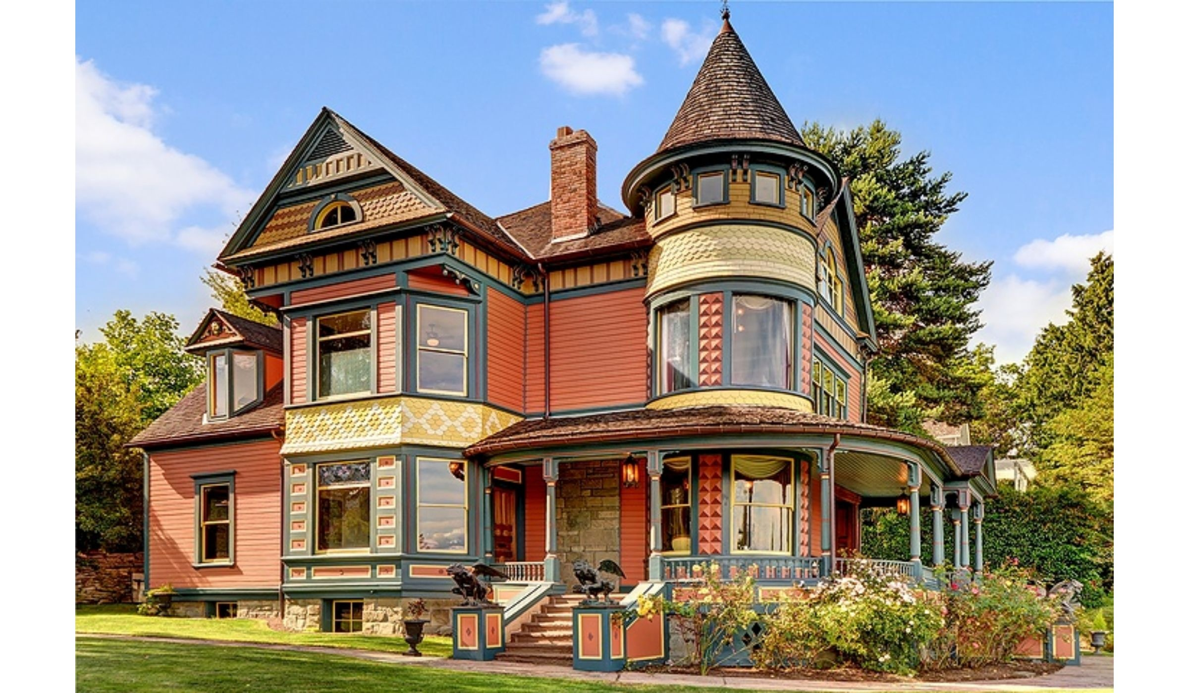 House Of The Week A Queen Anne With Views Mount Rainier