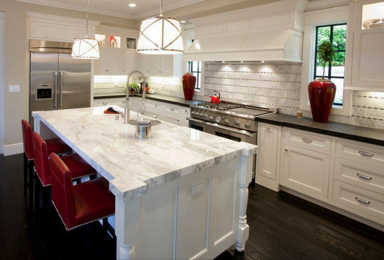 red tops kitchen rosso products levanto countertops island marble