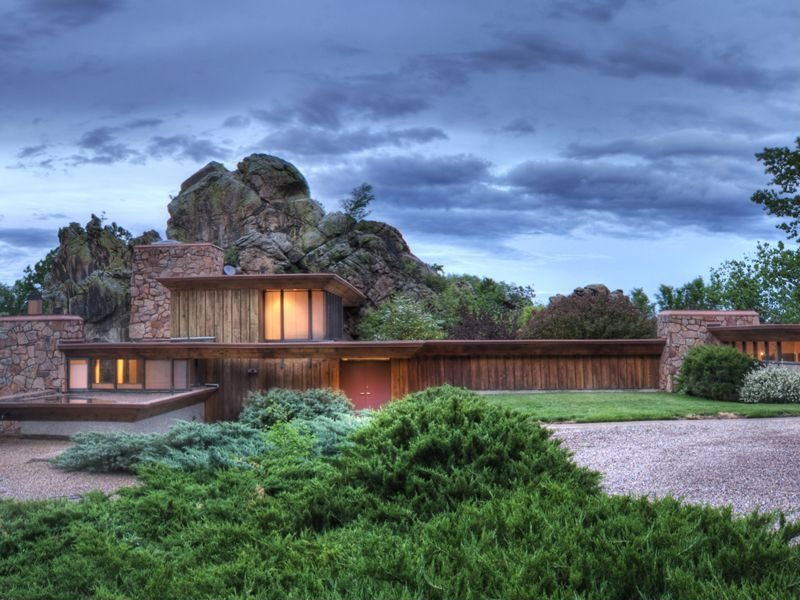 House of the week boulder co home built on a boulder for Building a home in colorado