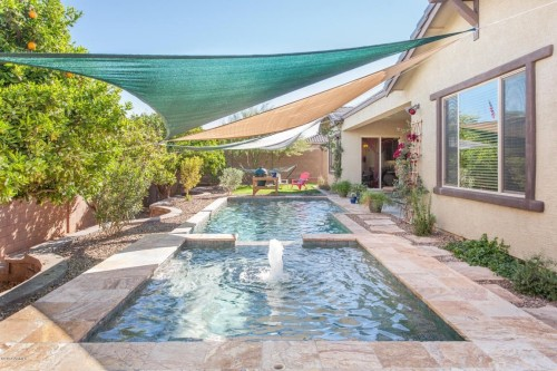 Homes for sale with spas and pools for Pool fill in mesa az