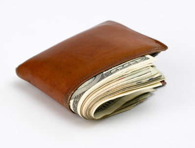 Fatten Up Your Wallet ... Wallet Full Of Hundreds