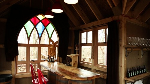 ohio brewery treehouse interior