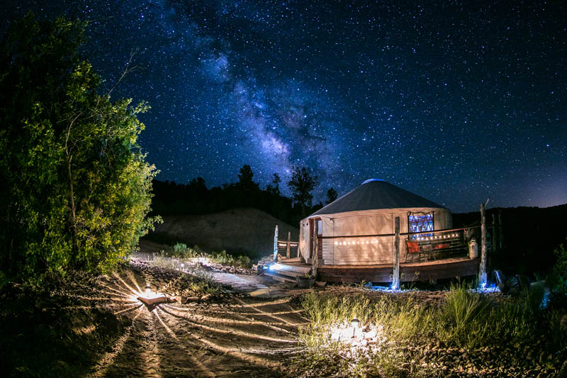 6 Yurts That Will Have You Dreaming of Your Next Adventure