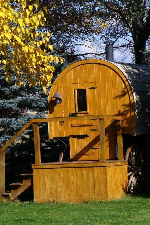 an 1800s sheep wagon turned tiny home - Sheep Wagon 2