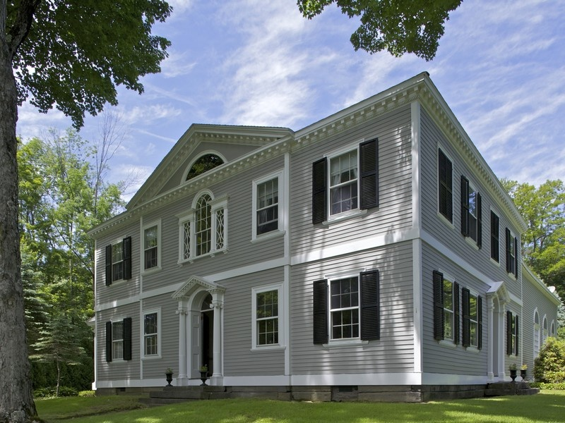 Home architecture 101 colonial for Palladian home designs