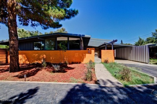 For sale mid century homes with modern upgrades for Modern home builders phoenix