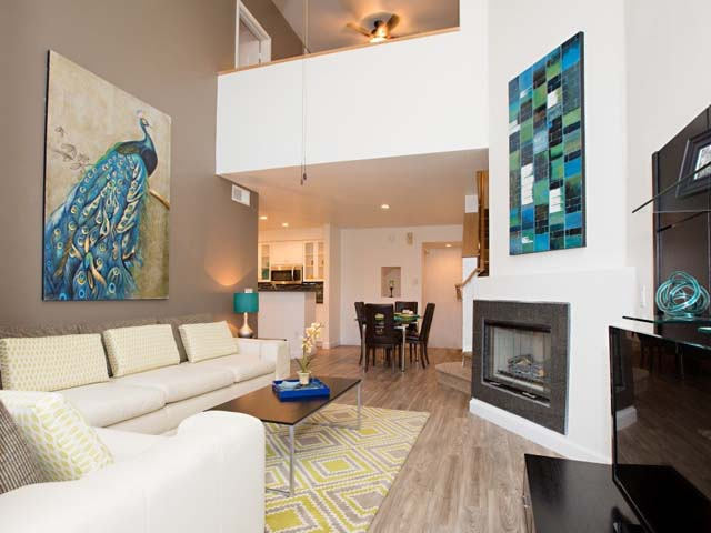 combines with upscale furnishings in this 1 bedroom 1 bath apartment