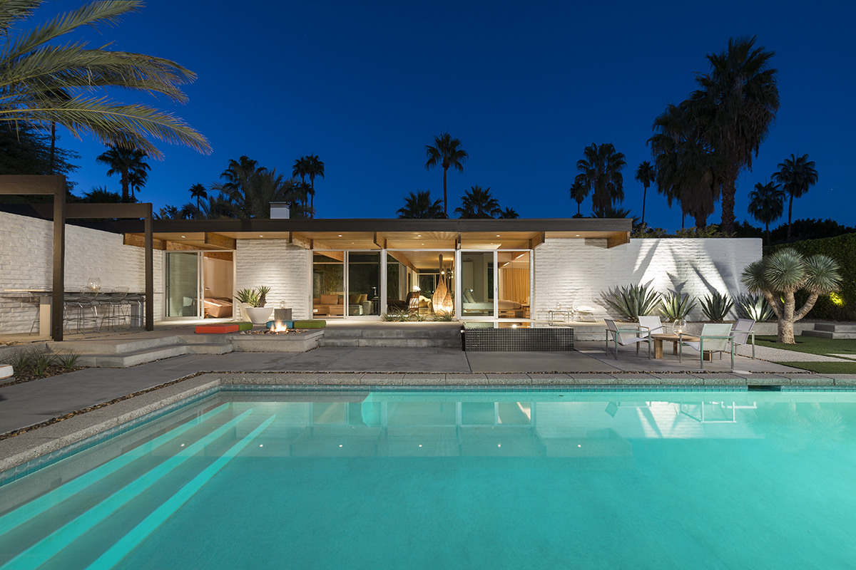 House Of The Week A Mid Century Modern Stripped To