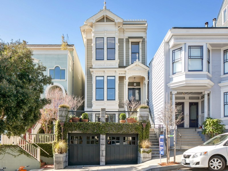 10 victorian homes to swoon over for valentine 39 s day for Houses in san francisco