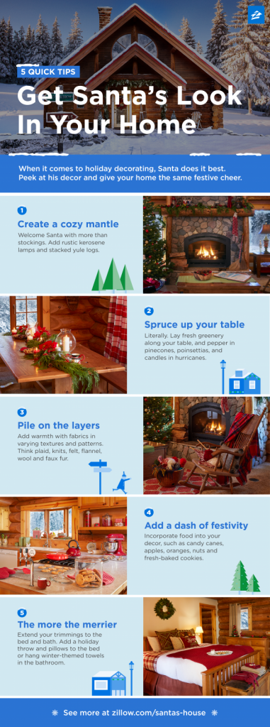 Get Santa's Look In Your Home