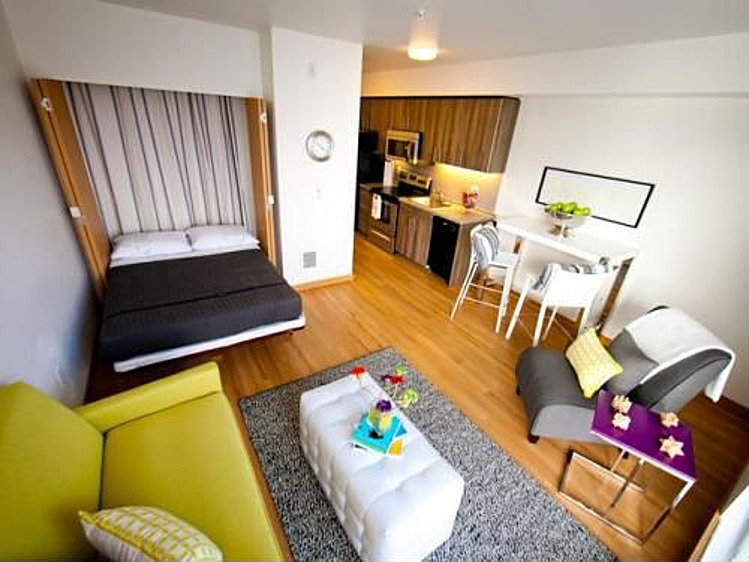 Feng shui for your tiny apartment for Small 1 room flat