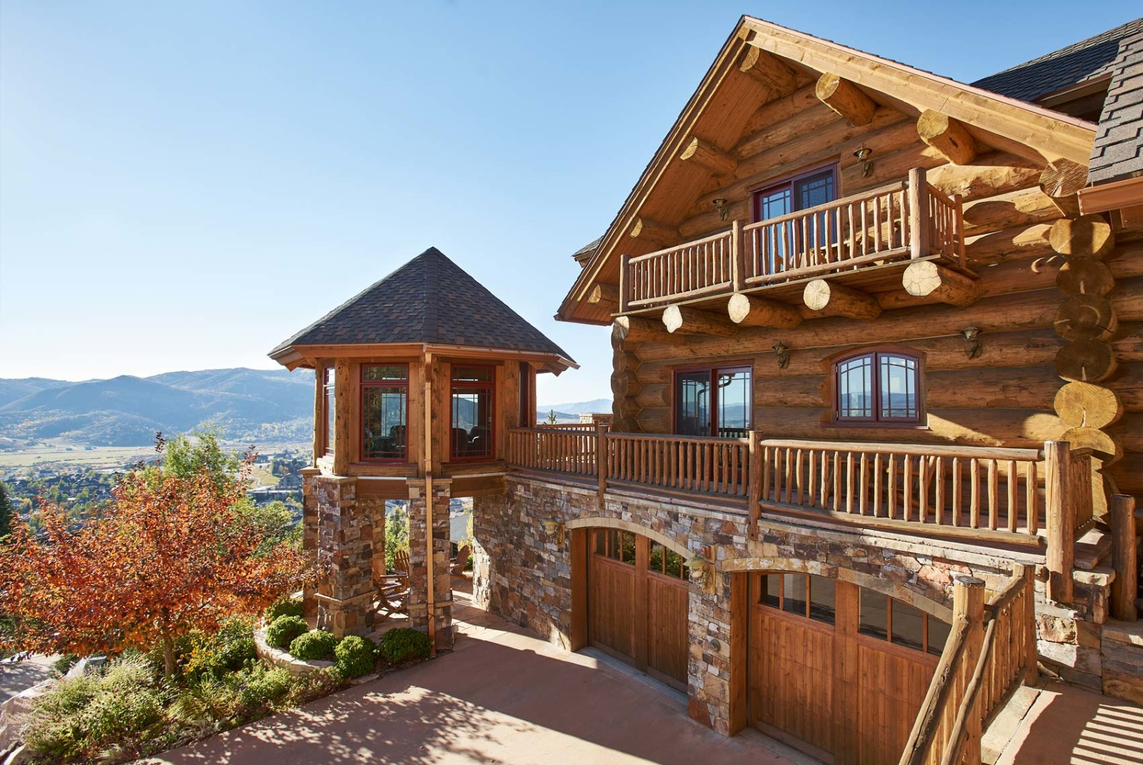 House Of The Week Ski Into This Log Home And Catch The Sunset
