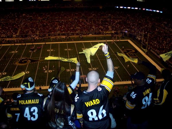 Steelers fans. Source: Drew Allen via Flickr Creative Commons