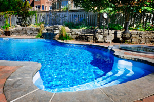 Pools trampolines and other features that can spike - How long after shocking pool can i swim ...