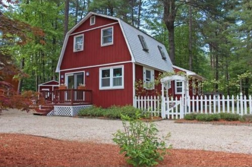 Walk To The Beach At White Lake State Park Or Take A Scenic Hike At This  Northeast Mountain Retreat. The Red Barn Inspired Home Has 3 Bedrooms With  Recently ...