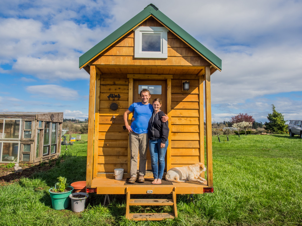 Could you live 39 tiny 39 see how a seattle couple found room for Tiny house zillow