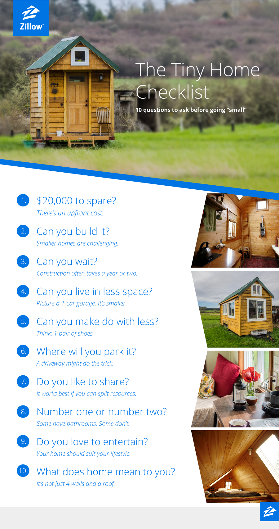 10 Questions To Ask Before Choosing A Tiny Home