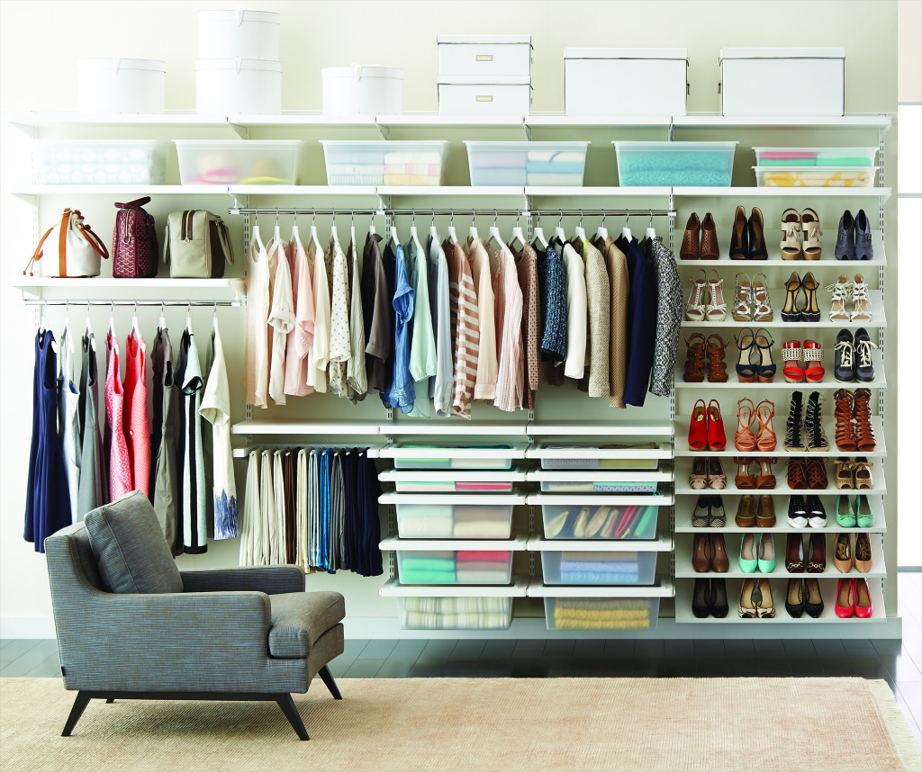 Closet Organizer Design Ideas Part - 19: Transparent Materials