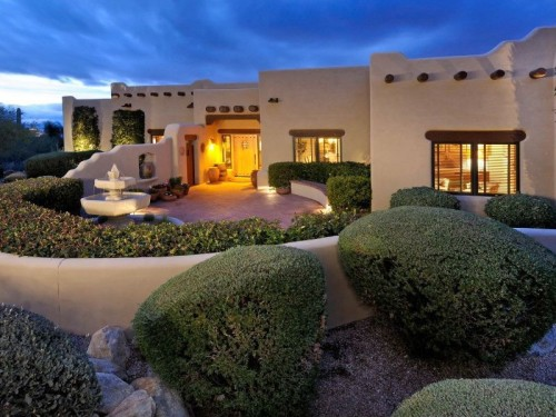 Saddle up with these southwestern homes for Adobe home builders california