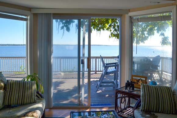 this 522 square foot waterfront cottage is a hop  skip  and a jump from  the beach  The 1 bedroom  1 bathroom home features cathedral ceilings and a  huge. On the Market  10 Tiny Vacation Homes   Zillow Porchlight
