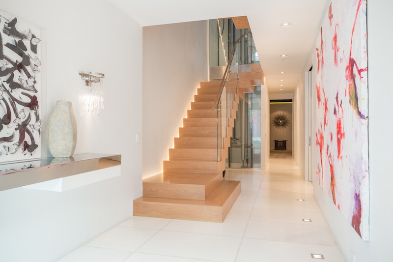 High Tech Homes For Sale With All The Bells And Whistles: homes with elevators for sale