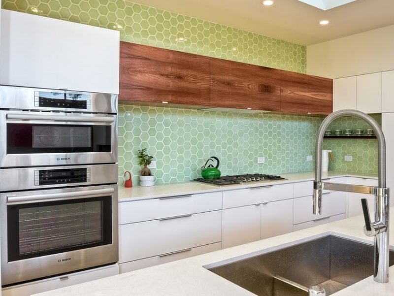 It's always clear when a home has been given new appliances or plumbing fixtures