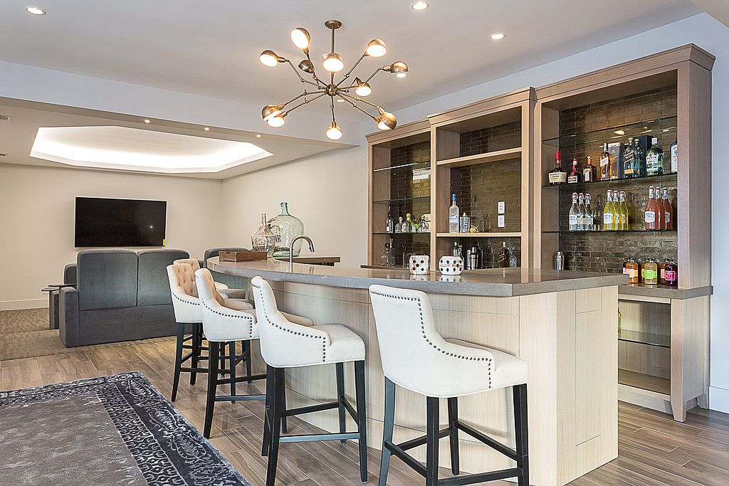 Belly up to your own home bar our how to guide for How much does it cost to build a wet bar