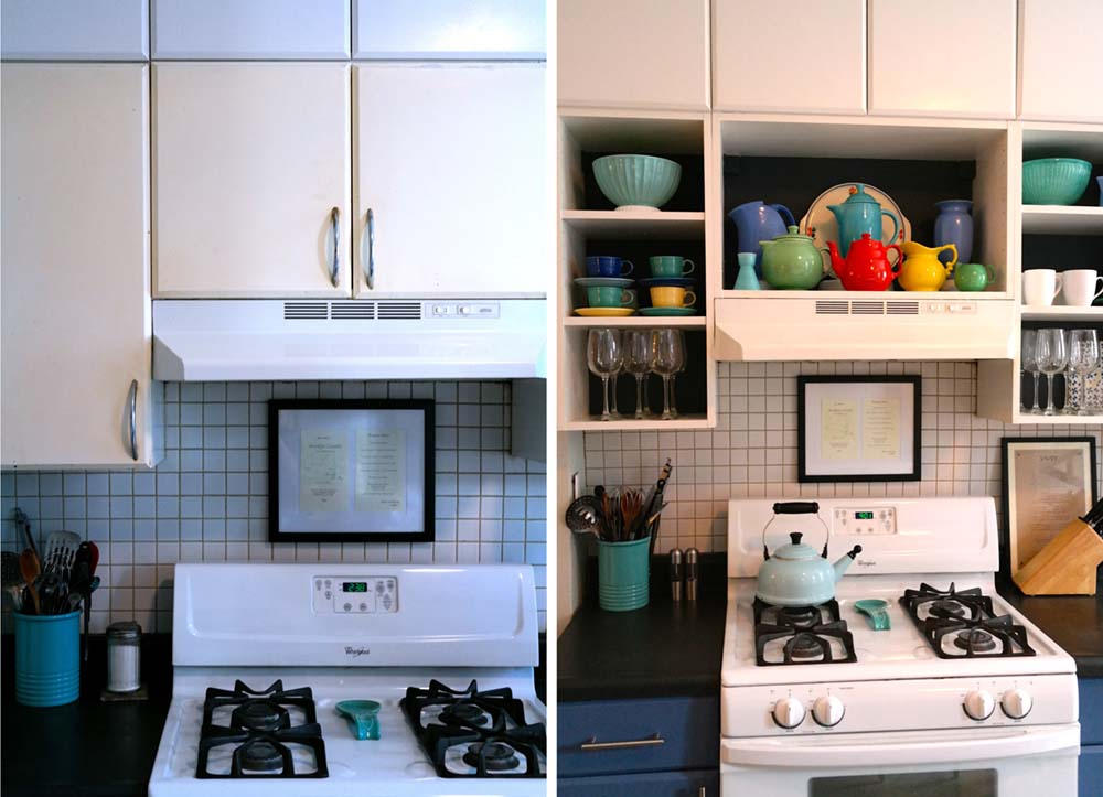 diy kitchen cabinet makeover - zillow porchlight