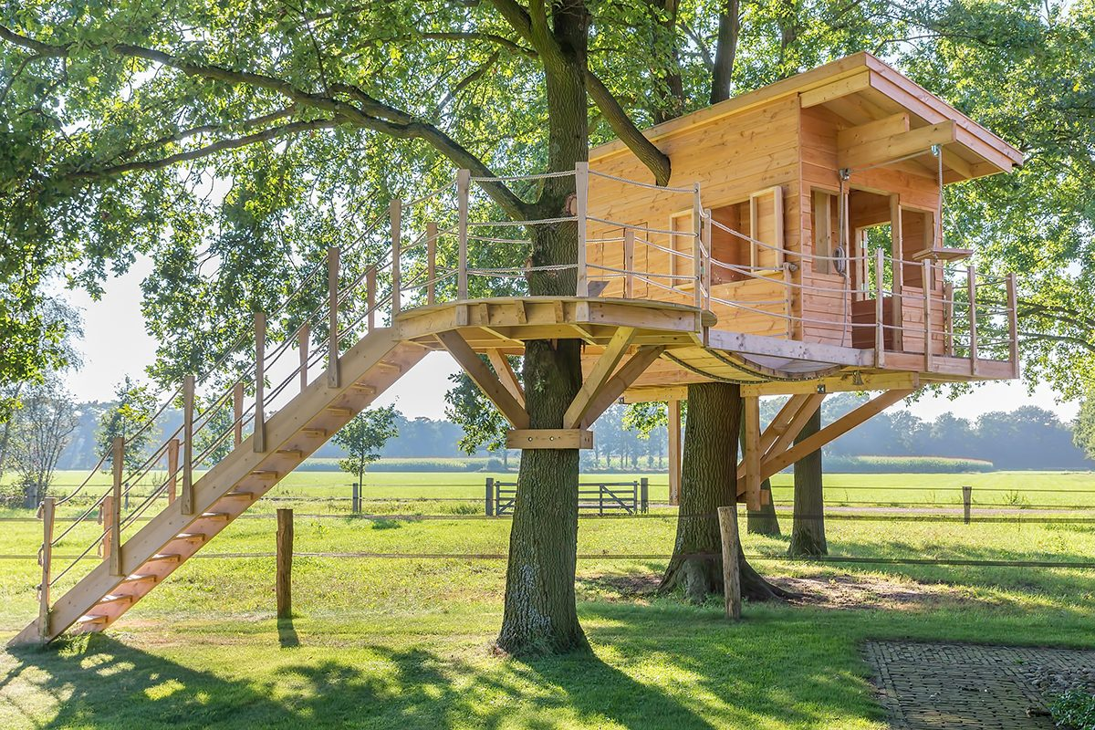 8 Tips for Building Your Own Backyard Treehouse