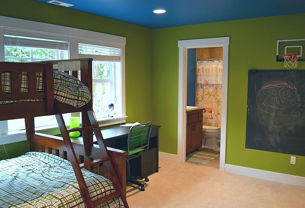 6 ways to add chalkboard paint to the home for Room and board kids
