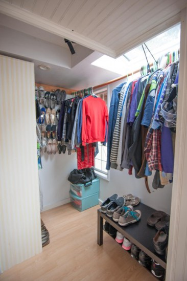 Ordinaire Like Many People, The Homeowners Were Making Do With A Strictly Functional  Closet.