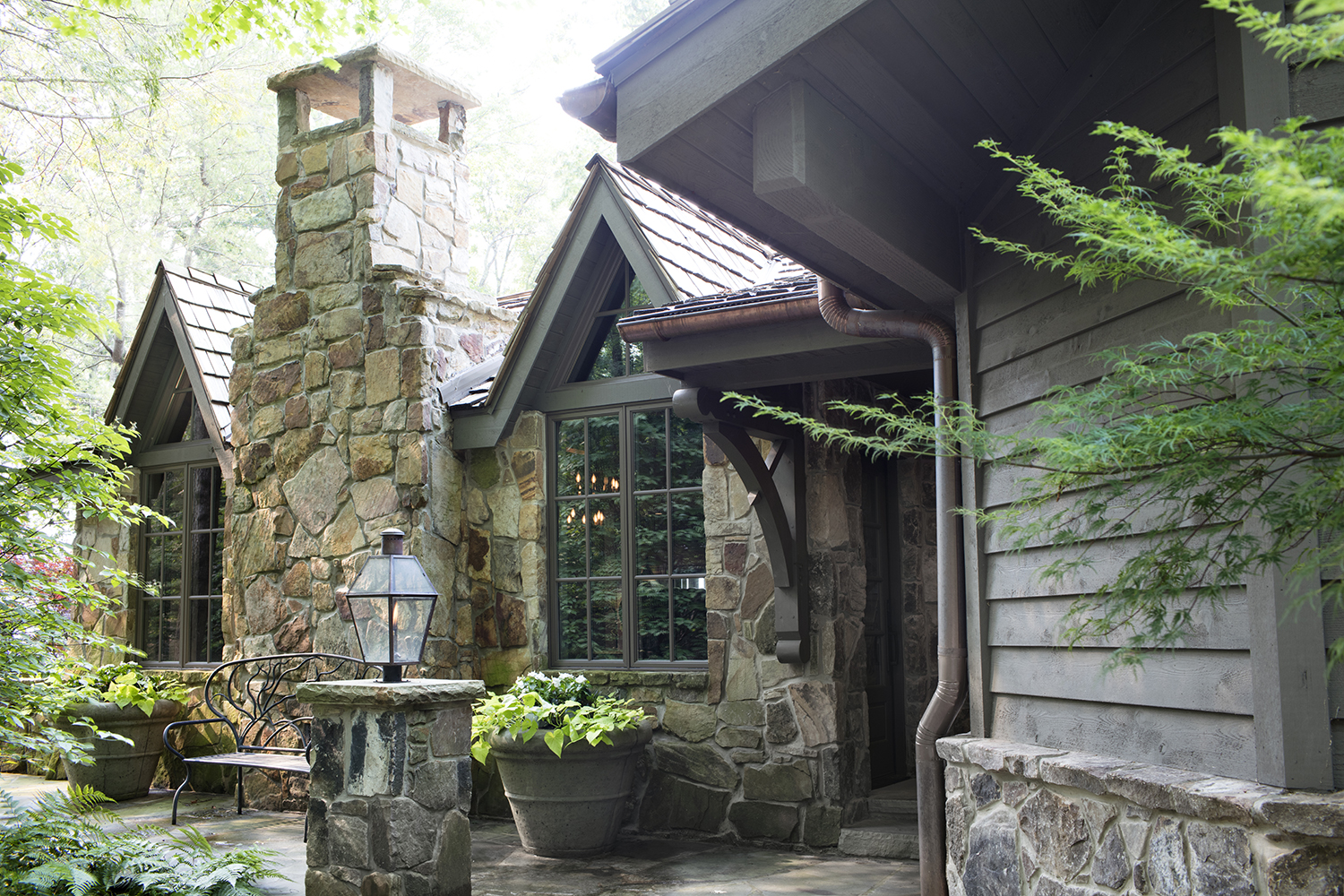 This Enchanting Mountaintop Cottage Embodies Coziness