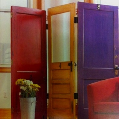 DIY Project: Repurpose Old Doors