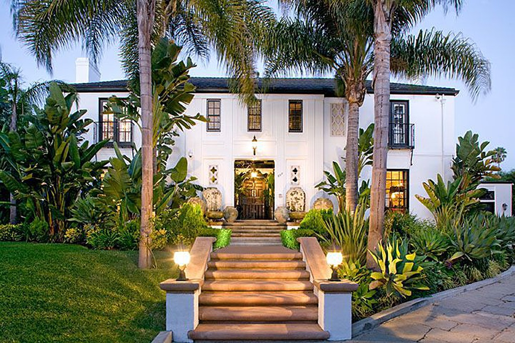 French Fashion Designer Christian Audigier, Creator Of The Ed Hardy Line,  Is Selling Another Home In Los Angeles. This Time, Itu0027s A Lush  Mediterranean In An ...