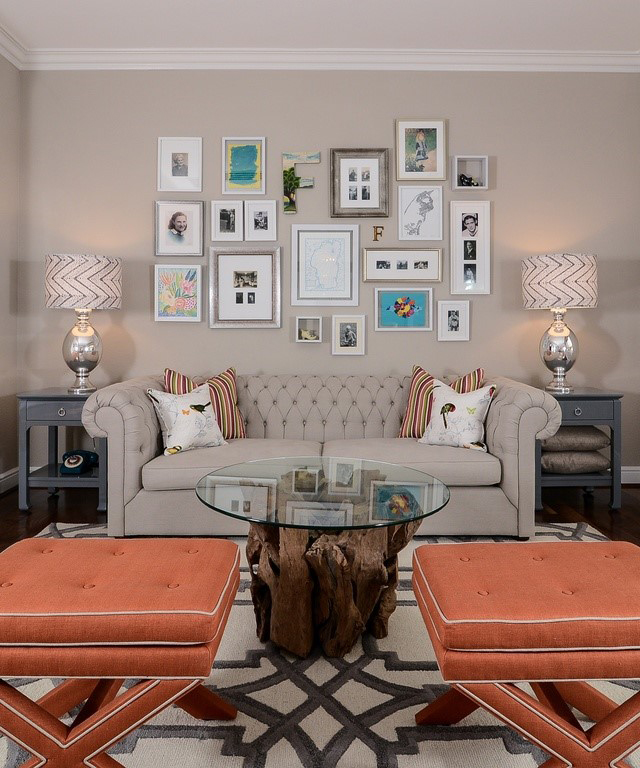 Enjoyable Home Decor Challenge The Big Blank Wall Zillow Porchlight Largest Home Design Picture Inspirations Pitcheantrous