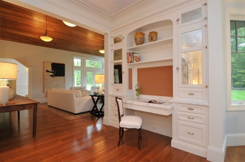 Tuck A Work Station Into A Hallway. Source: Zillow