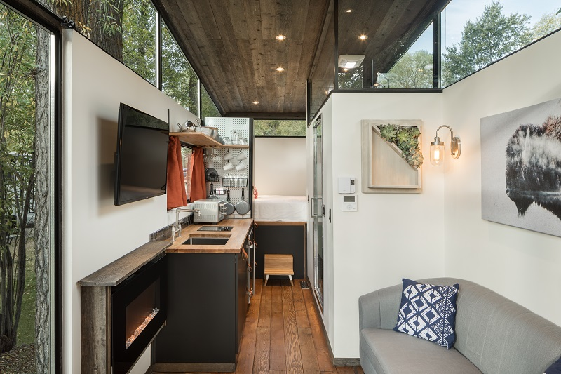 IndustrialStyle Tiny Home Made For Outdoor Living House Of The Week Adorable Zillow Home Design