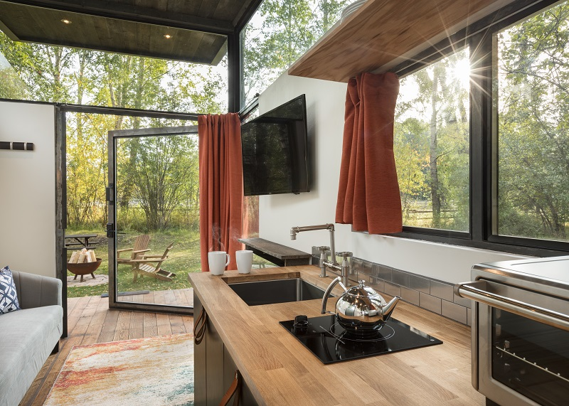 IndustrialStyle Tiny Home Made for Outdoor Living House of the Week Awesome Zillow Home Design
