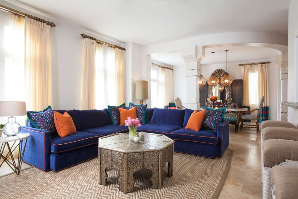 A texas town house goes moroccan for Homeinteriors com texas