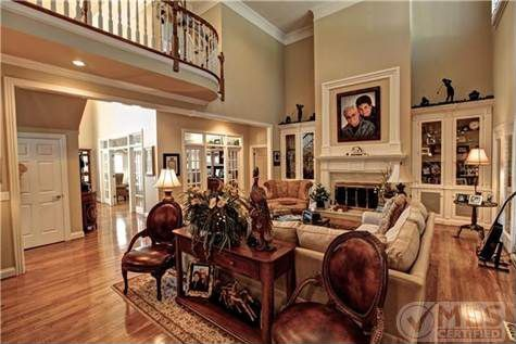 Picture of george jones home