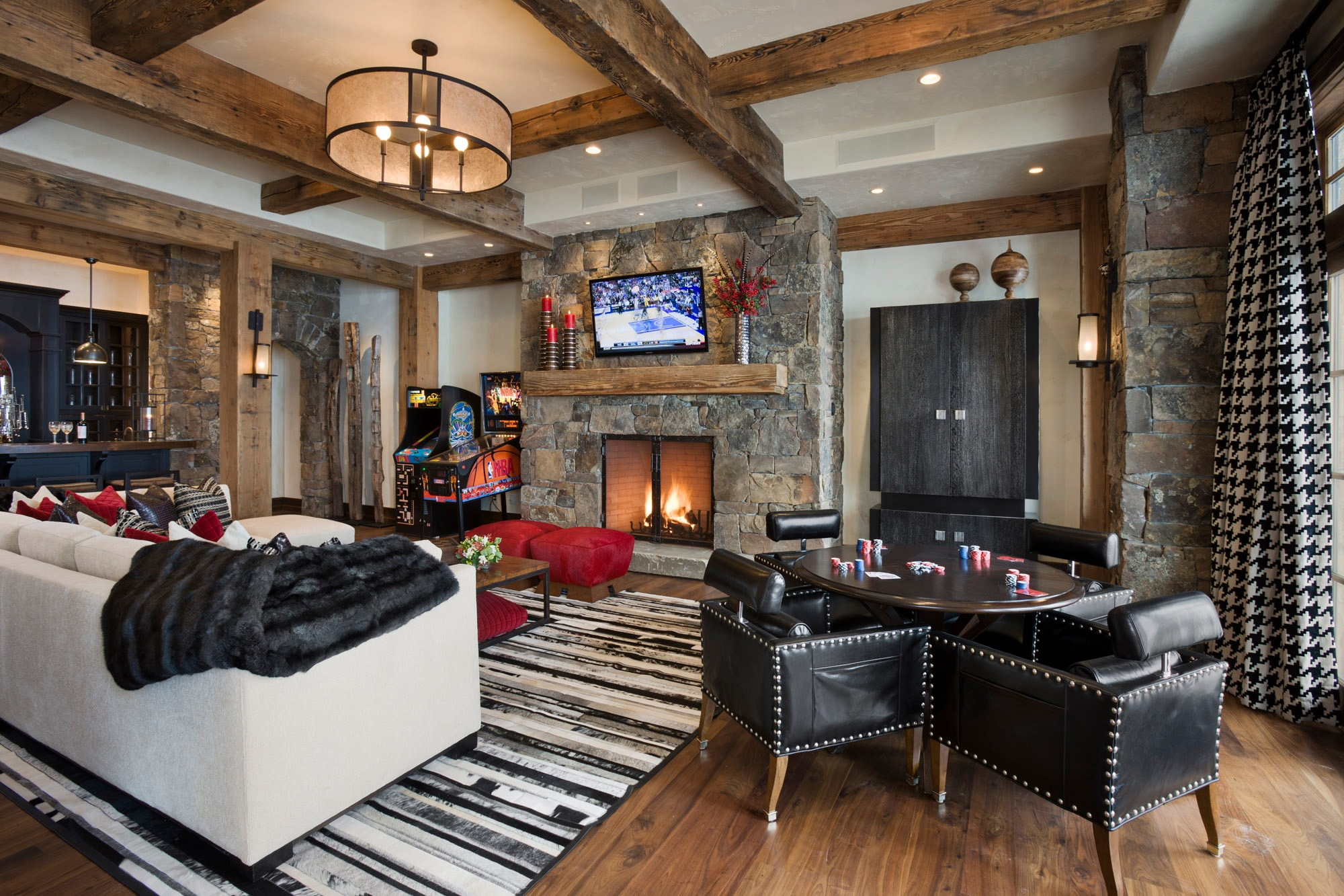 Super Man Caves For The Super Bowl