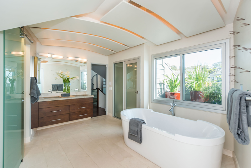 House of the week a 1900s firehouse with a modern redesign for Bathroom 75 million
