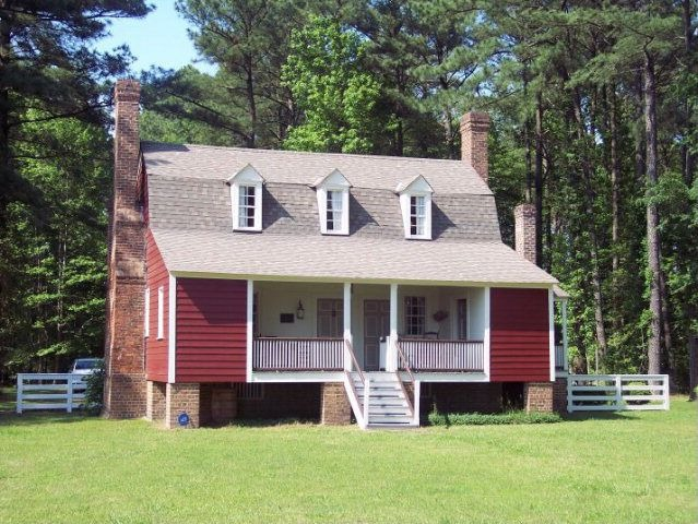 13 Homes From the 13 Colonies
