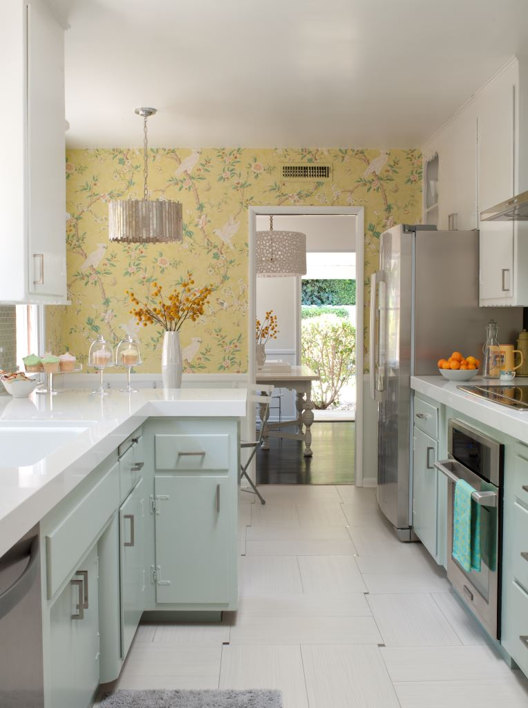 S Kitchen Cabinets Inspiration Before & After A 1950S Kitchen Gets An Affordable Upgrade Decorating Design