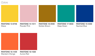 Pantone S Playful Color Palette Offers A Selection Of Whimsical Hues