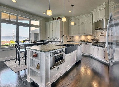 b q kitchen islands zillow digs trend report traditional kitchens 10206