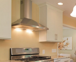 Merveilleux Most Residential Building Codes Do Not Require A Range Hood Above A Stove  Or Cook Top, But Youu0027d Be Wise To Ensure Your Locale Is Not The Exception.