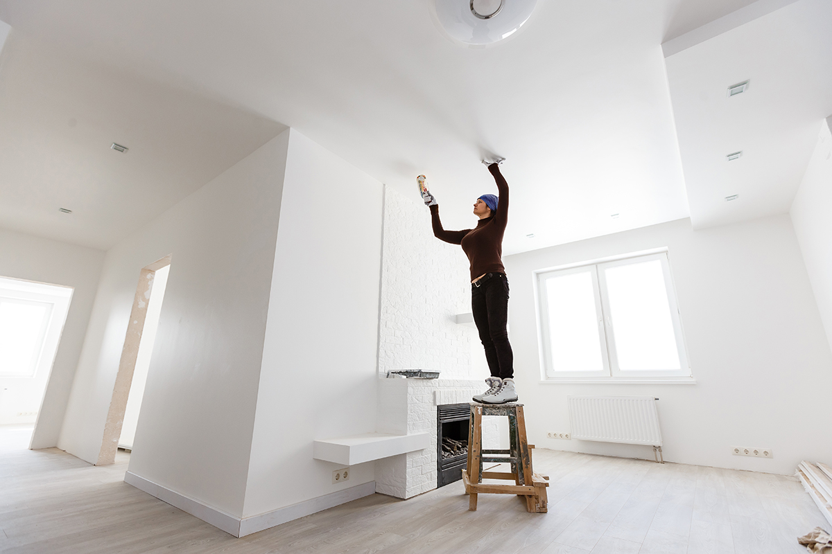 How To Fix Ceiling Water Stains
