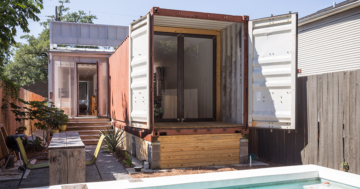 This Double Shipping Container Home Has Twice The Delight House Of