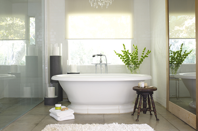spa-like bathtub